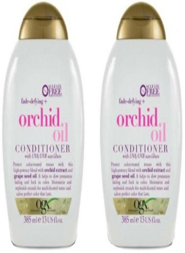 Organix Ogx Orchid Oil Renk Koruyucu Bakım Kremi 385 ml x 2 Adet Renksiz